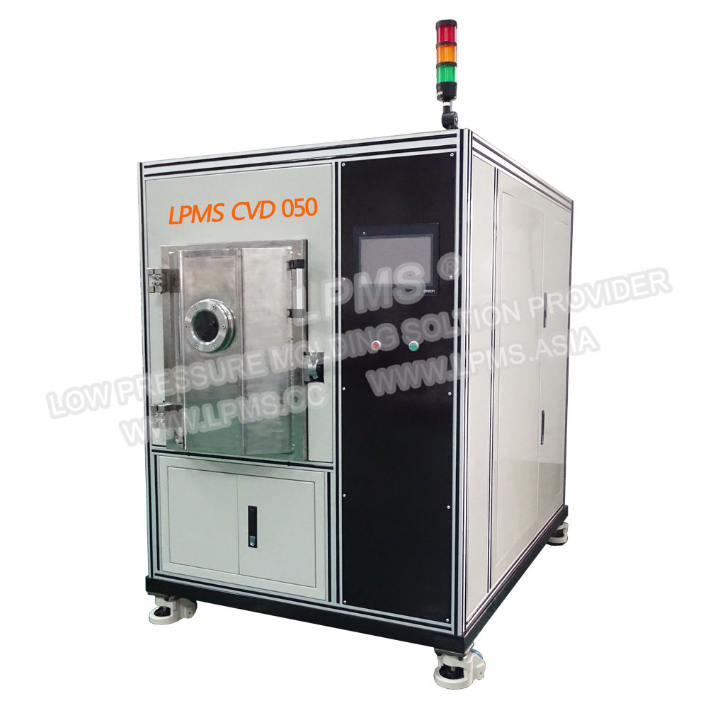 LPMS  CVD 05紧凑型側式真空氣相沉積設備