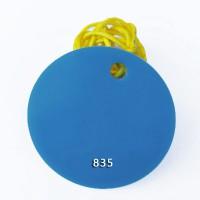 3 5 8 10mm蓝色不透明有机玻璃板定制浅蓝色迷你字专用
