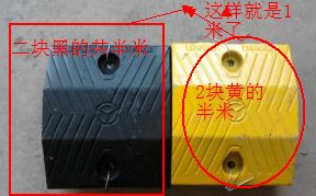 南宁减速带规格价格铸钢减速带多少钱