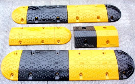 南宁优质减速带橡胶减速带规格价格