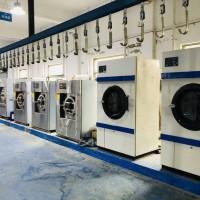濮阳转让二手大型工业水洗机二手4辊烫平机二手折叠机