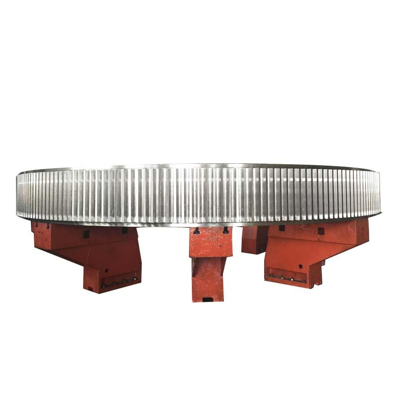 厂家定制大直径齿圈架体矿山机械零配件