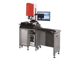 旗辰芯片高清高解析彩色EVM-3020T影像同轴光测量仪