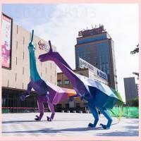 宿州不锈钢切面恐龙雕塑 工程案例图