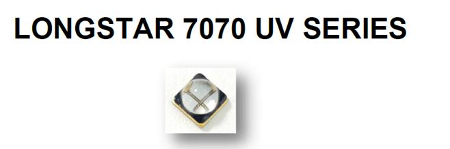 385nm 大功率固化紫外UVALED灯珠7070封装