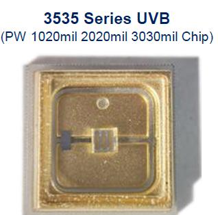 3535 UVB UVCLED消毒杀菌灯珠-PW芯片