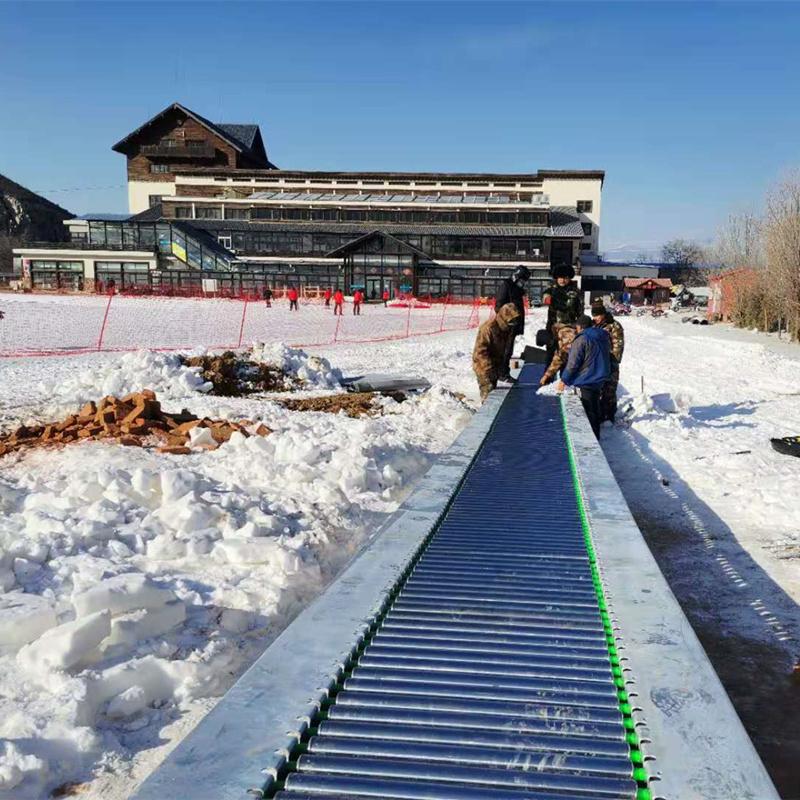 滑雪魔毯生产厂家  设计新颖魔毯